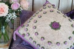 Lyn's Rose Garden Pillow